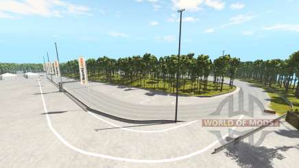Crecy racetrack for BeamNG Drive