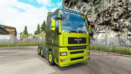 MAN TGA v1.2 for Euro Truck Simulator 2