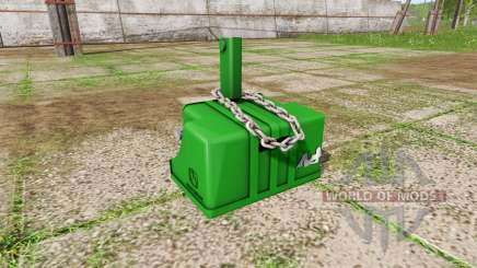 Weight John Deere for Farming Simulator 2017