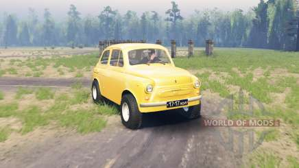 ZAZ 965 Zaporozhets v1.2 for Spin Tires