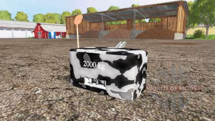 Weight v1.1 for Farming Simulator 2015