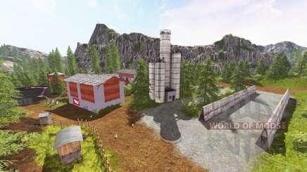 The Zillertal Alps v2.0 for Farming Simulator 2017