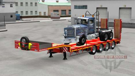 Kassbohrer with cargos v1.1 for American Truck Simulator