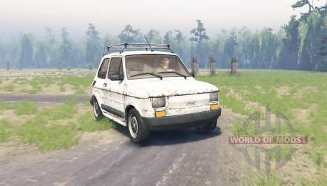 Fiat 126p for Spin Tires