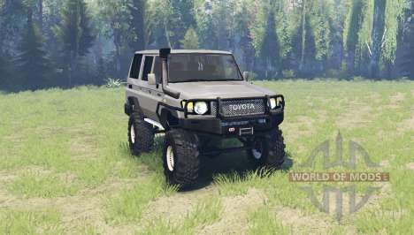 Toyota Land Cruiser 70 v3.01 for Spin Tires