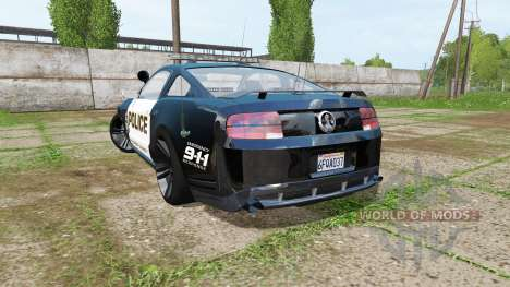 Ford Mustang Shelby GT Seacrest County Police for Farming Simulator 2017