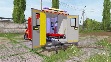 Renault Master Ambulance for Farming Simulator 2017