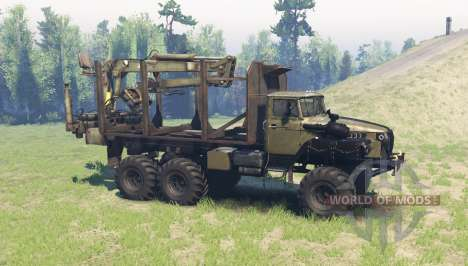 Ural 4320-10 Phantom v1.2 for Spin Tires