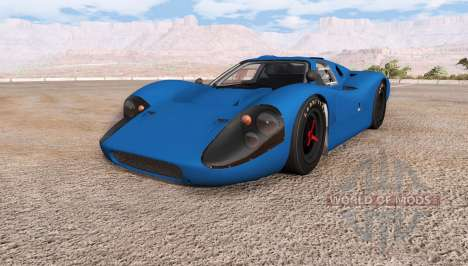 Ford GT40 (MkIV) for BeamNG Drive