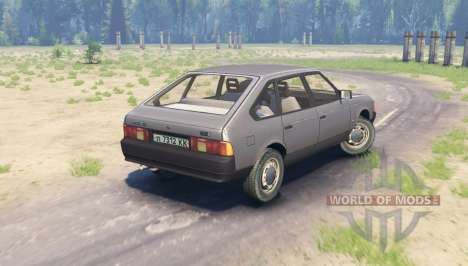 Moskvich 2141 for Spin Tires