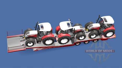 Semitrailer Steyr Multi 4115 for Euro Truck Simulator 2