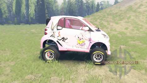 Smart ForTwo supercharge for Spin Tires