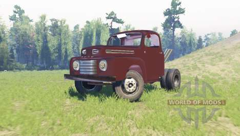 Ford F-6 1950 Stubby Bob for Spin Tires
