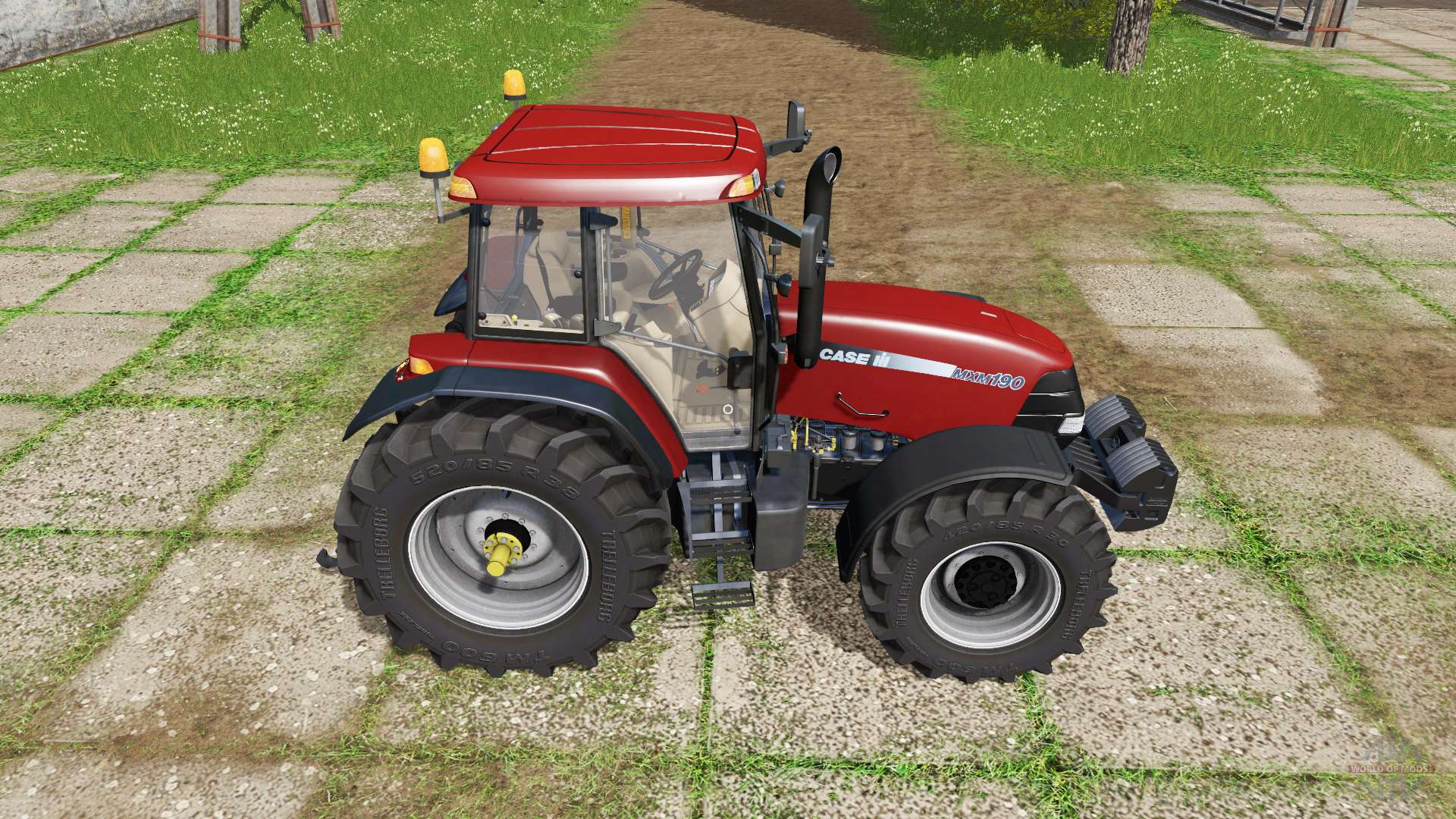 Case IH MXM 190 v2.0 for Farming Simulator 2017