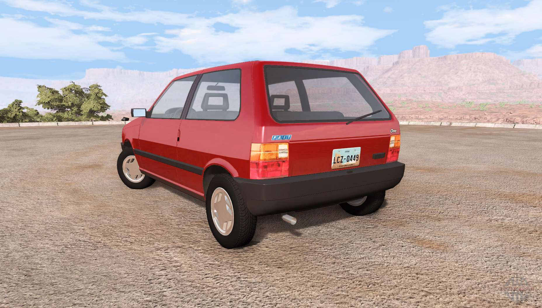 Fiat Uno V0 1 For Beamng Drive