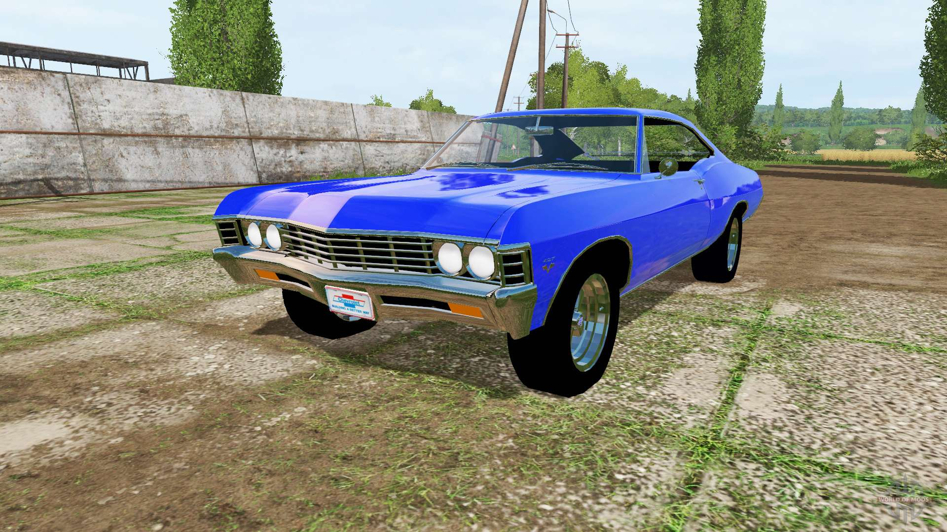 Chevrolet Impala Ss 427 1967 For Farming Simulator 2017 1966 Chevy