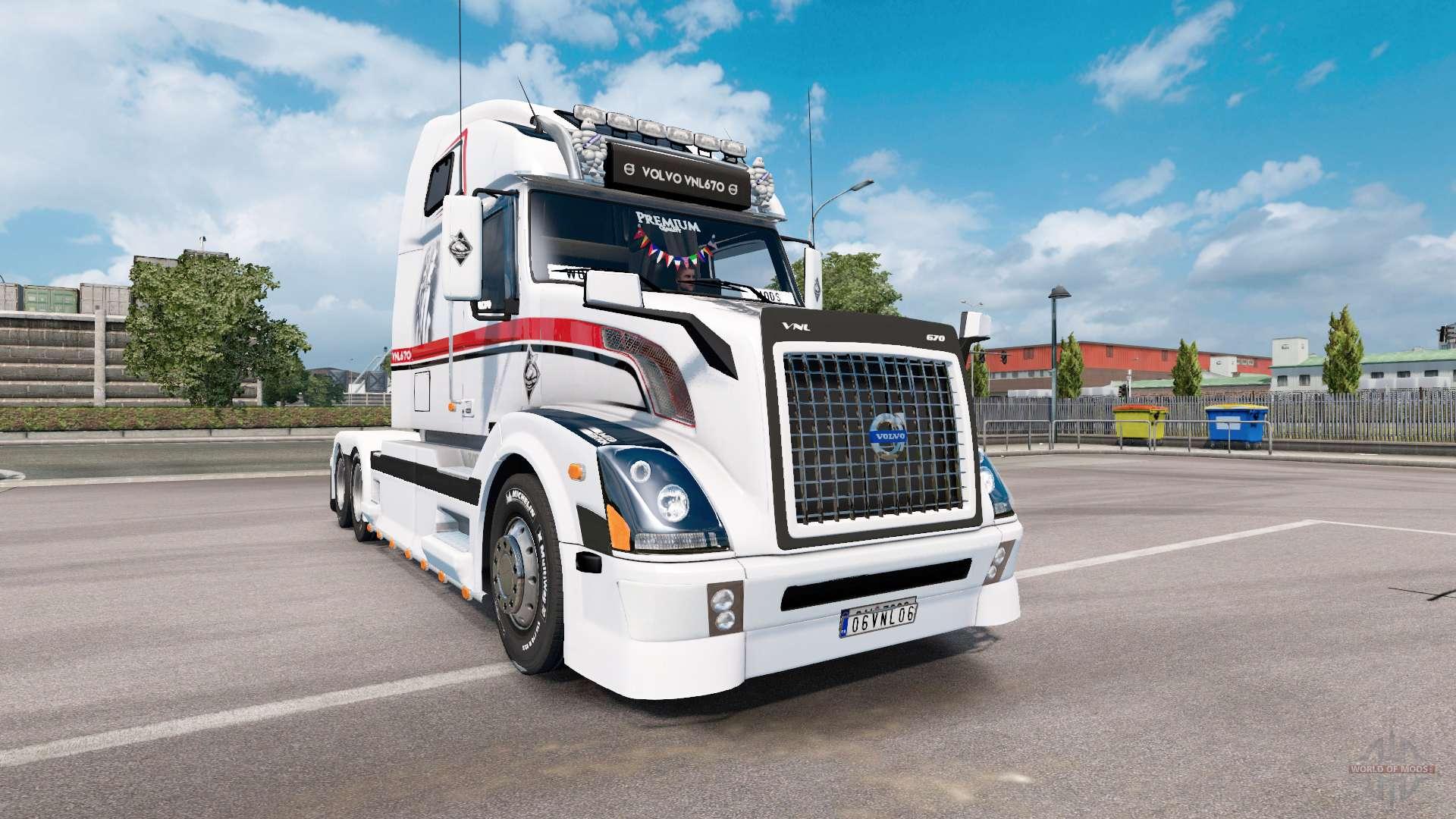 Volvo VNL 670 v1.5 for Euro Truck Simulator 2