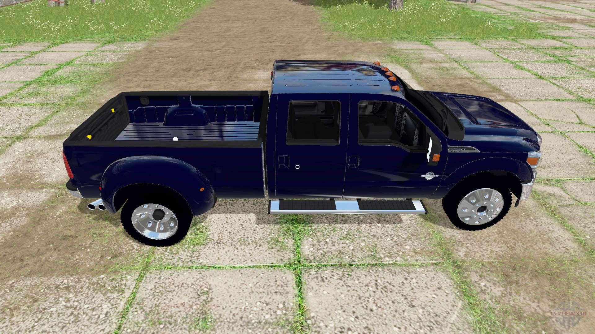 ford f 350 super duty crew cab 2016 for farming simulator 2017. Black Bedroom Furniture Sets. Home Design Ideas