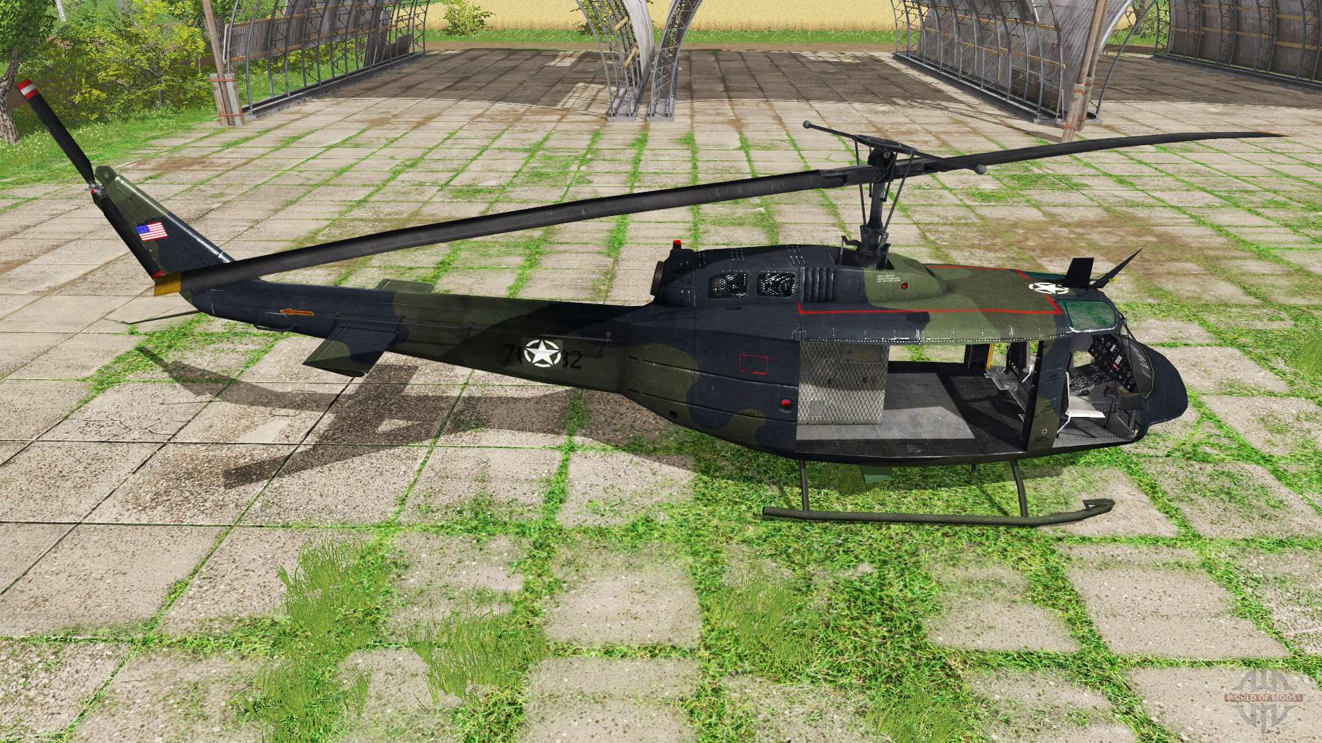 Bell UH-1D U S  Army for Farming Simulator 2017