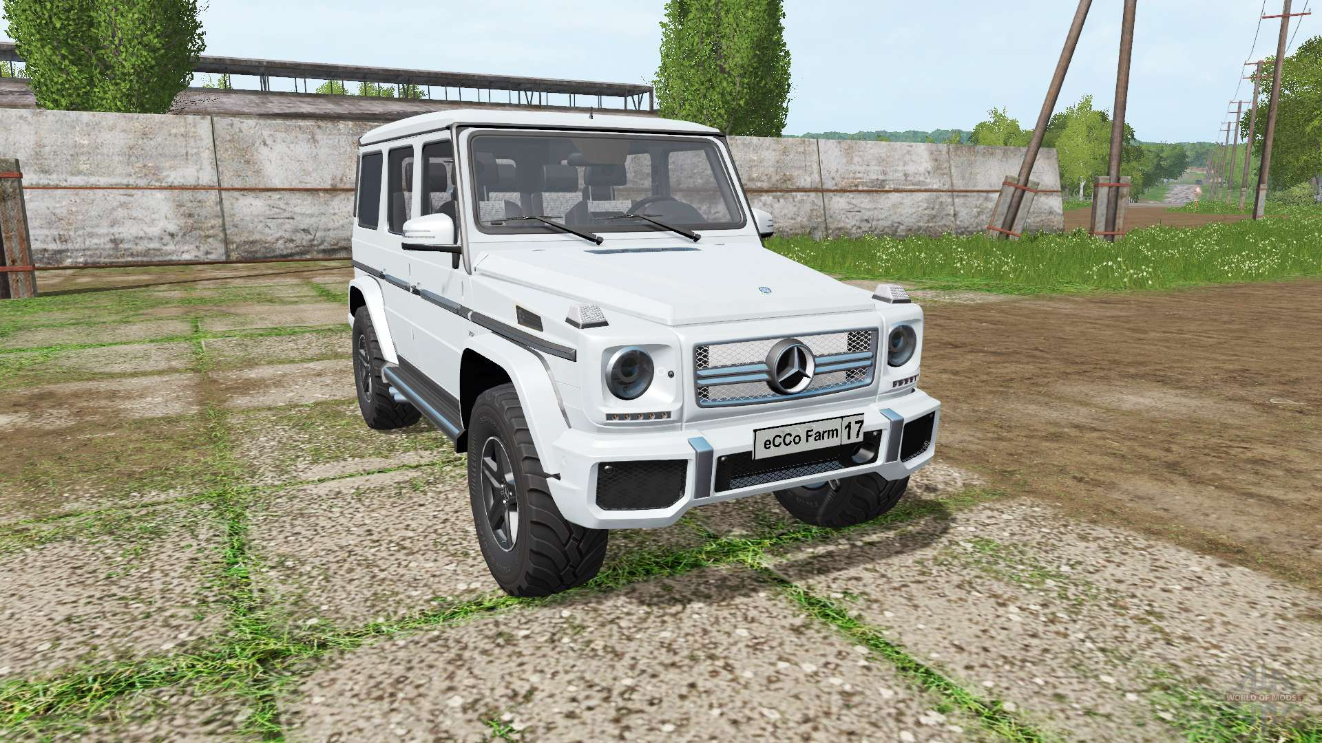 Mercedes benz g65 amg multicolor v1 3 for farming for Mercedes benz g65