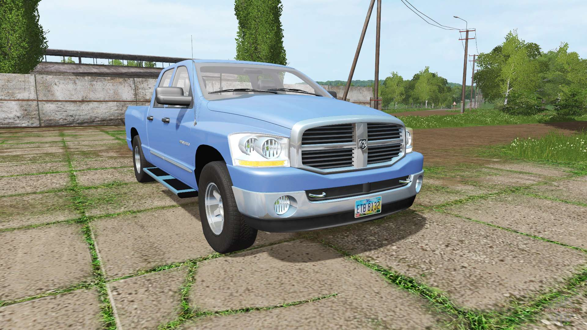 dodge ram 1500 crew cab for farming simulator 2017. Black Bedroom Furniture Sets. Home Design Ideas