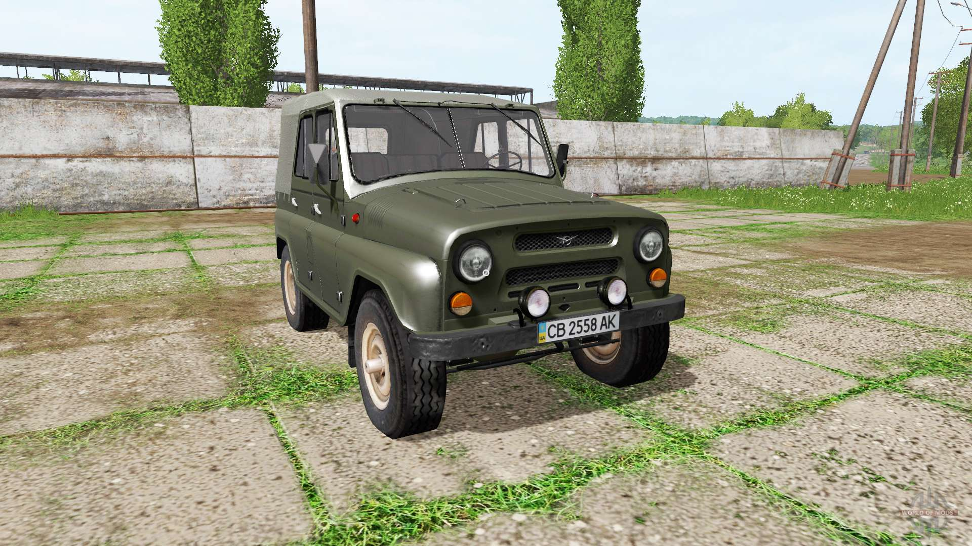 uaz 469 for farming simulator 2017. Black Bedroom Furniture Sets. Home Design Ideas
