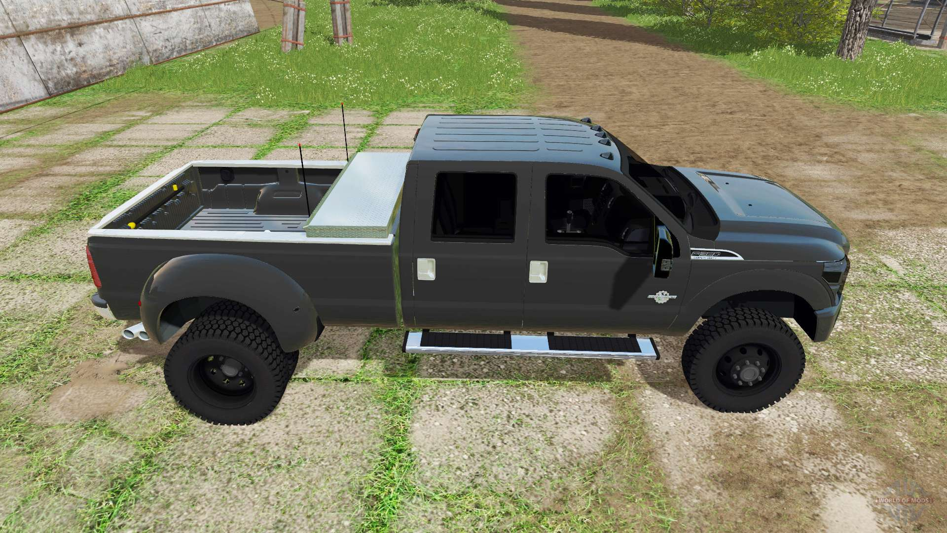 ford f 350 super duty crew cab for farming simulator 2017. Black Bedroom Furniture Sets. Home Design Ideas