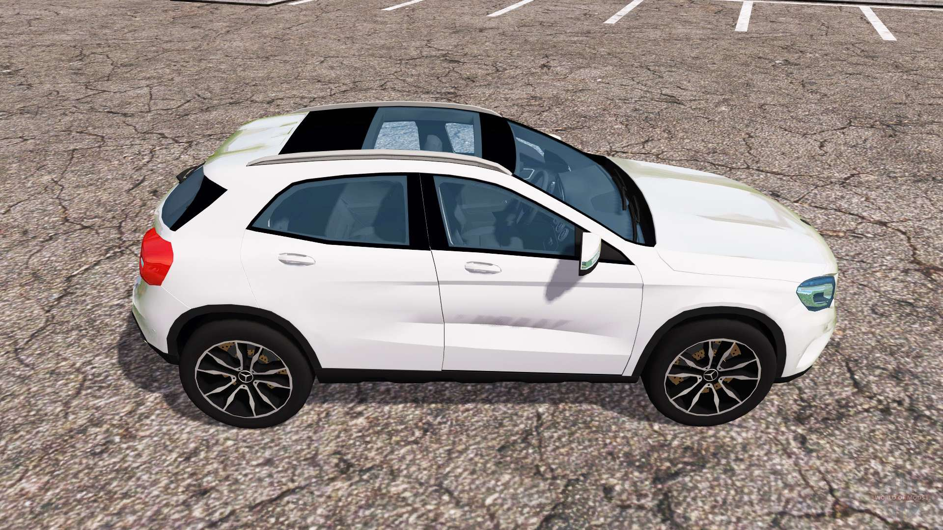 mercedes benz gla 220 cdi x156 for farming simulator 2013. Black Bedroom Furniture Sets. Home Design Ideas