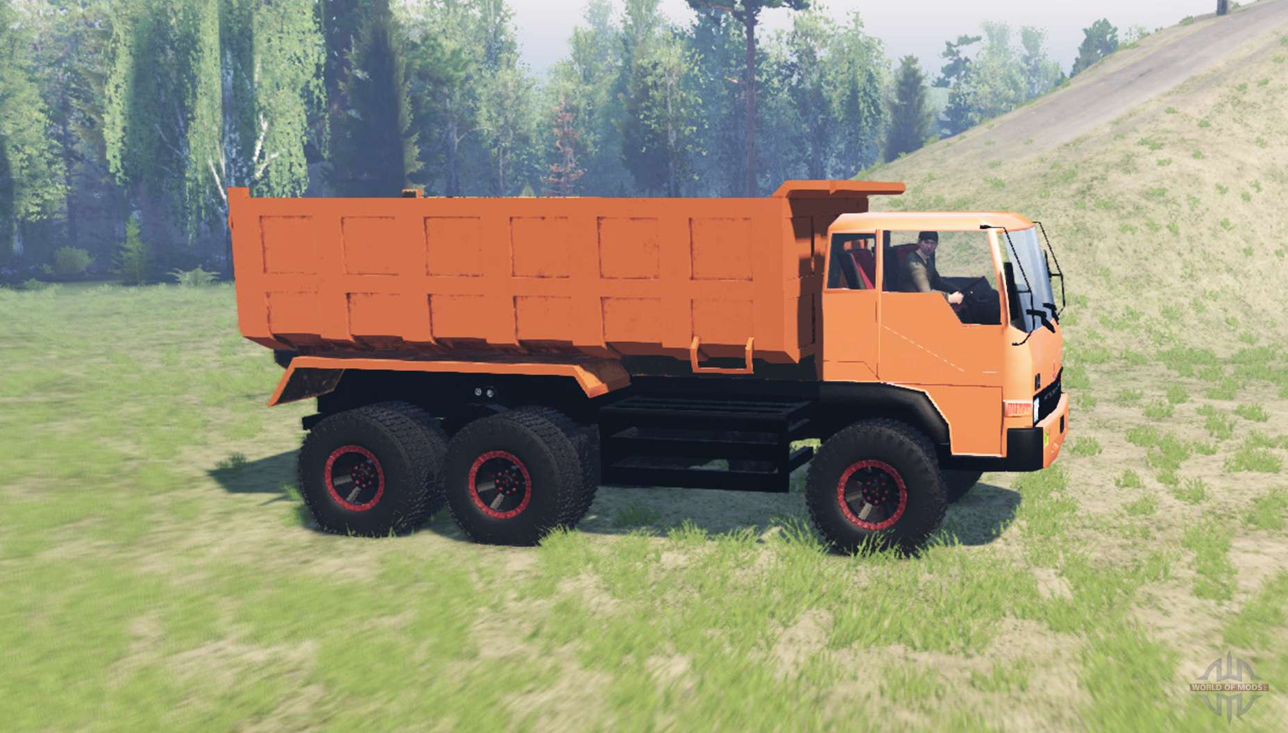 Mitsubishi Fuso 220PS for Spin Tires