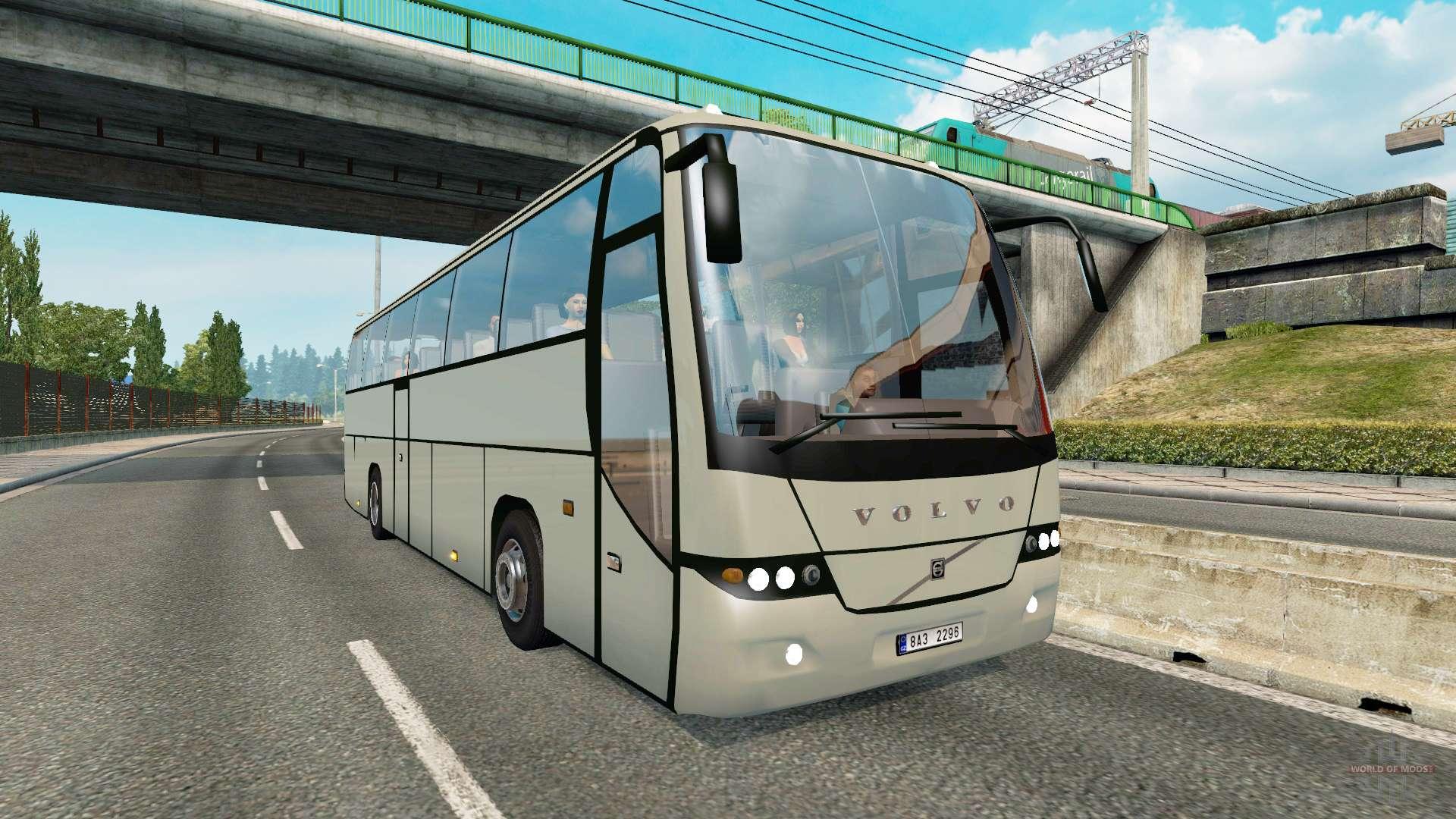 bus traffic v1 3 3 for euro truck simulator 2. Black Bedroom Furniture Sets. Home Design Ideas