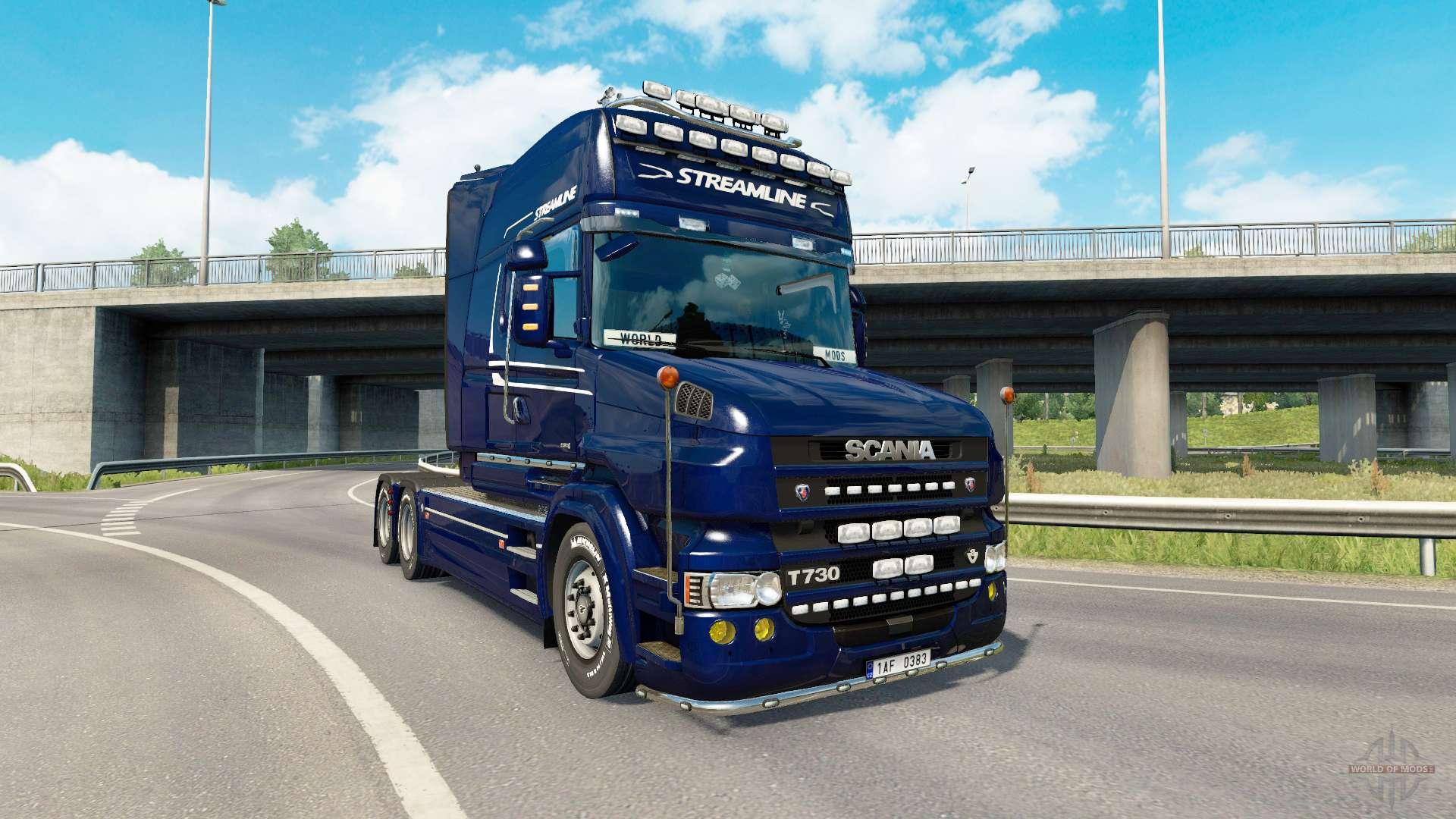 scania t v2 0 for euro truck simulator 2. Black Bedroom Furniture Sets. Home Design Ideas
