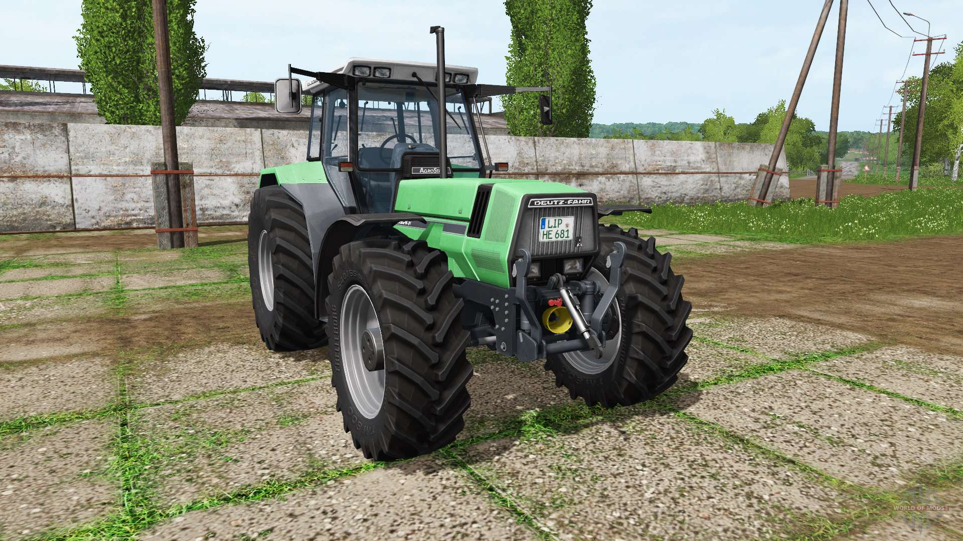 deutz fahr agrostar 6 81 for farming simulator 2017 rh worldofmods com Deutz- Allis Deutz-Fahr Agro XXL