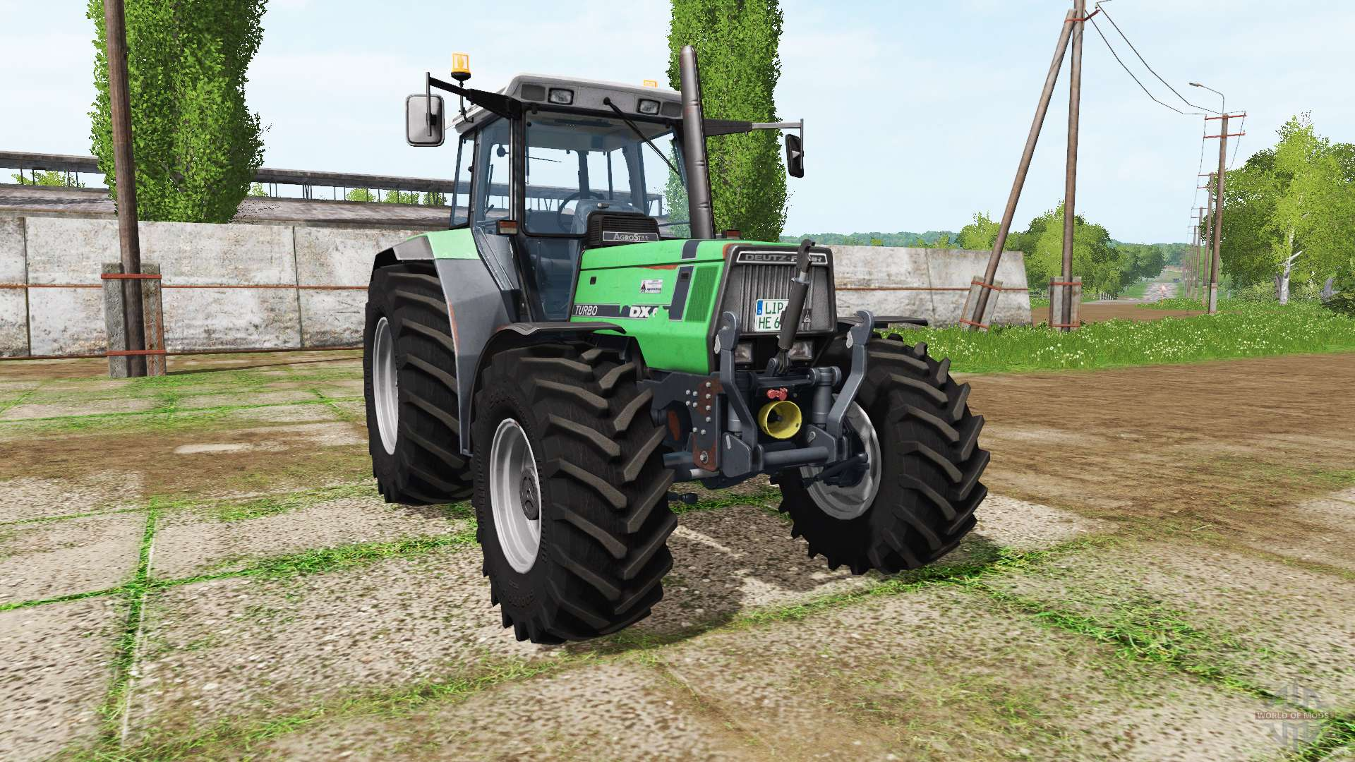 deutz fahr agrostar 6 31 v1 1 for farming simulator 2017 rh worldofmods com Deutz- Allis Deutz- Allis