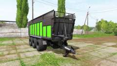 JOSKIN DRAKKAR 8600 black and green for Farming Simulator 2017