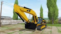 Caterpillar 345B LME for Farming Simulator 2017