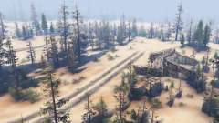 Sandy swamp for Spin Tires