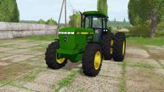 John Deere 4560 v1.2 for Farming Simulator 2017
