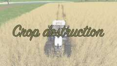 Crop destruction for Farming Simulator 2017