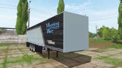 Schmitz Cargobull Modding Welt v1.2 for Farming Simulator 2017