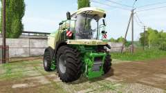 Krone BiG X 580 dynamic hoses for Farming Simulator 2017