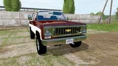 Chevrolet K5 Blazer 1973 for Farming Simulator 2017