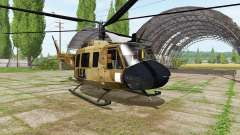 Bell UH-1D skycrane for Farming Simulator 2017