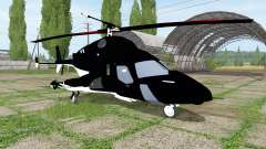Bell-222 Airwolf for Farming Simulator 2017