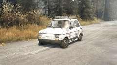 Fiat 126p v1.1 for Spin Tires