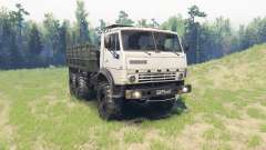 KamAZ 43102 for Spin Tires