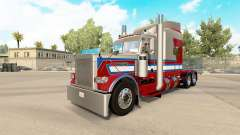 806 Trucking skin for the truck Peterbilt 389 for American Truck Simulator