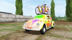 Volkswagen Beetle 1966 peace and love v2.0 for Farming Simulator 2017