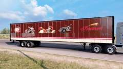 Indian Motorcycles box trailer
