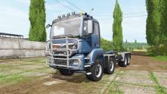 MAN TGS 8x8 hooklift v4.0 for Farming Simulator 2017