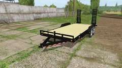 Platform trailer v1.1 for Farming Simulator 2017